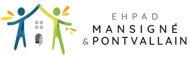 EHPAD Mansigné & Pontvallain Logo