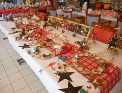 Le marché de Noël à Pontvallain